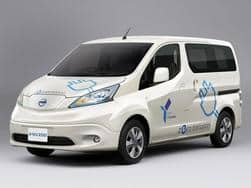 electric nissan e nv200 evalia concept revealed