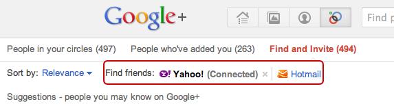 Circles  Google+