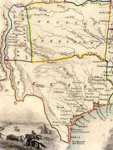 map of texas in 1820     bnhspine com Texas Revolution Timeline Timetoast Timelines