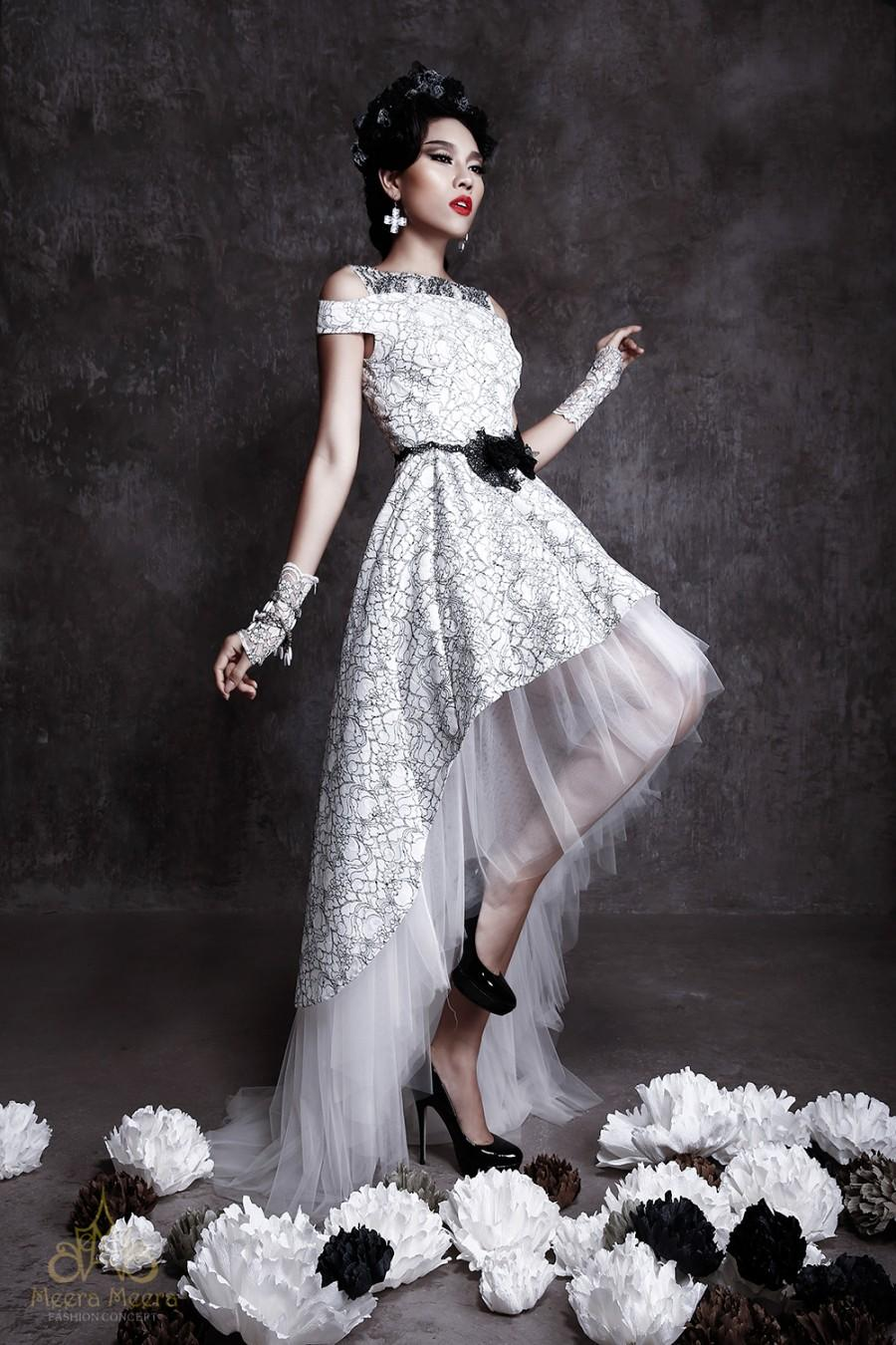 Fullsize Of Black And White Wedding Dresses