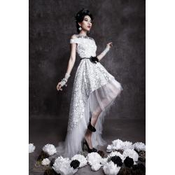 Small Crop Of Black And White Wedding Dresses