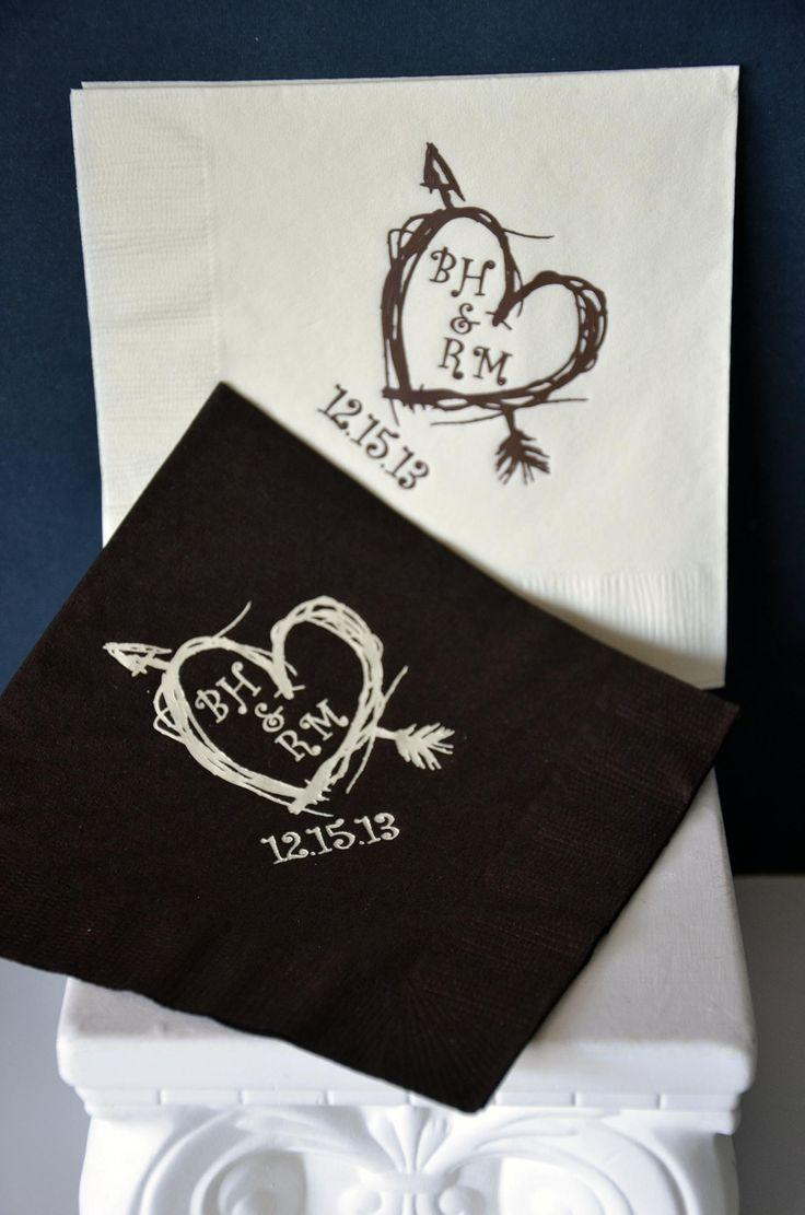 personalized wedding napkins favors you keep classic collection napkins for wedding Personalized Wedding Napkins Favors You Keep Classic Collection