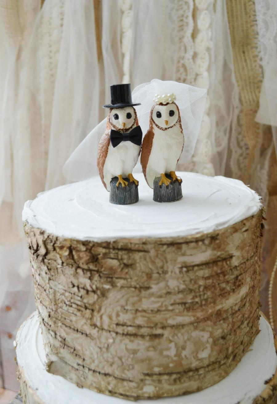 country wedding cake toppers rustic wedding cake toppers Rustic Burlap and Lace Wedding Cake
