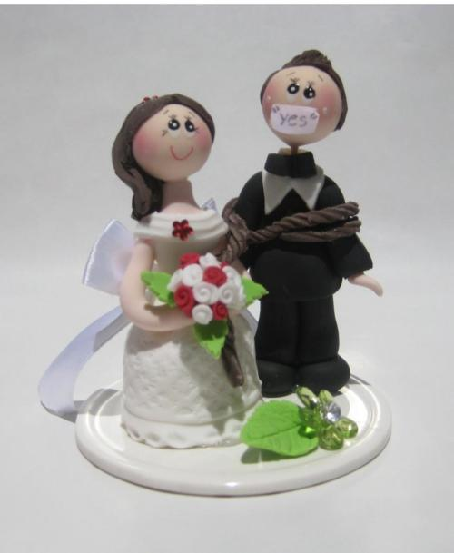 Medium Of Funny Wedding Cake Toppers