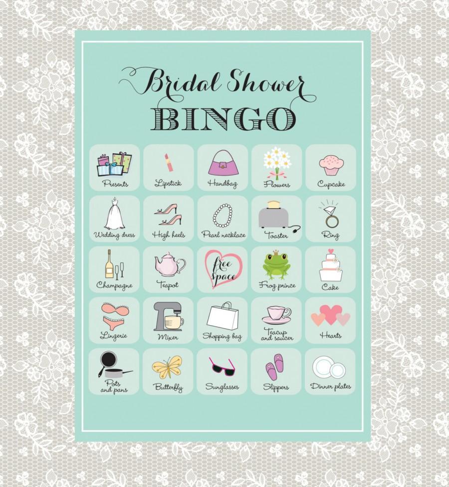 Fullsize Of Bridal Shower Bingo
