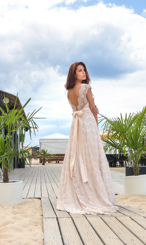 bridal collection rue de seine vintage boho wedding dress Young Love Rue De Seine s Bridal Collection Helena Dress