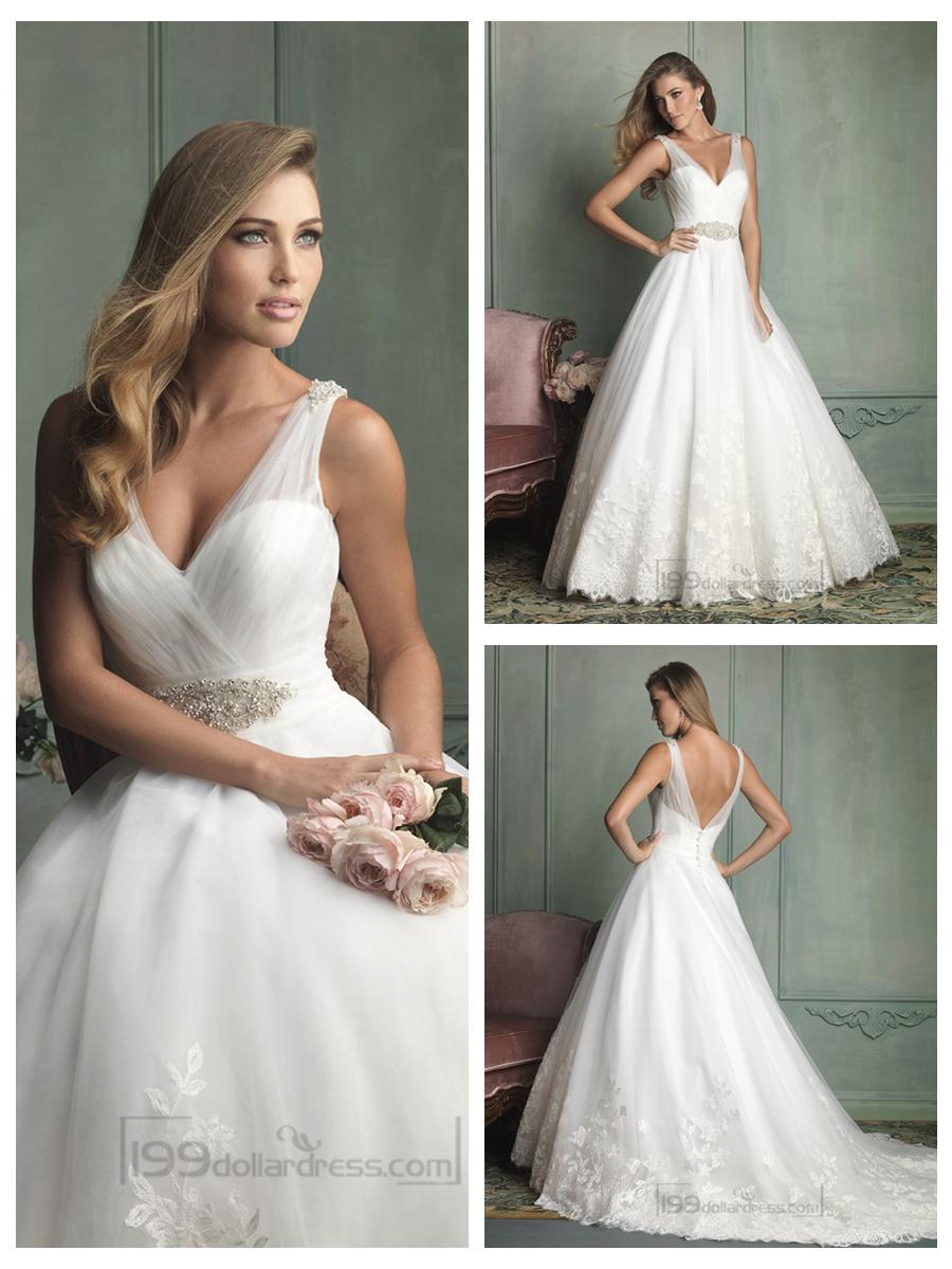 ivory polka dot organza sheer back long wedding dress pwedsku sheer back wedding dress