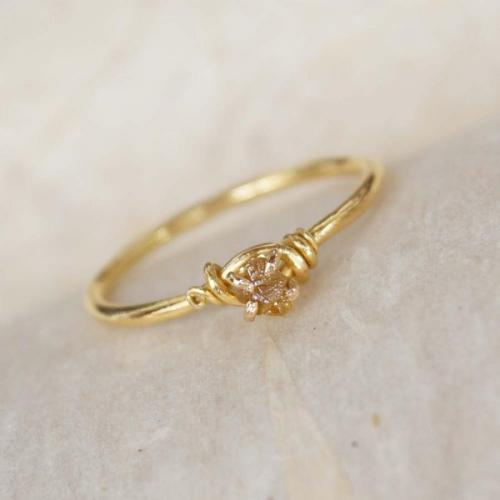 wedding ring wrap 14kt Rose Gold Solitaire Enhancer Round Diamonds Ring Guard Wrap Jacket Insert