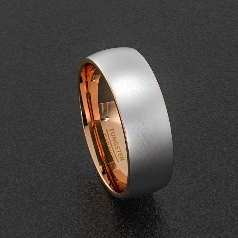 14K Two Tone Gold Two Stripes Unique Unisex Regular Fit Band 5mm two tone wedding band 14K Two Tone Gold Two Stripes Unique Band 5mm Shop at Wedding Rings Depot Big Discounts on Women s Ring