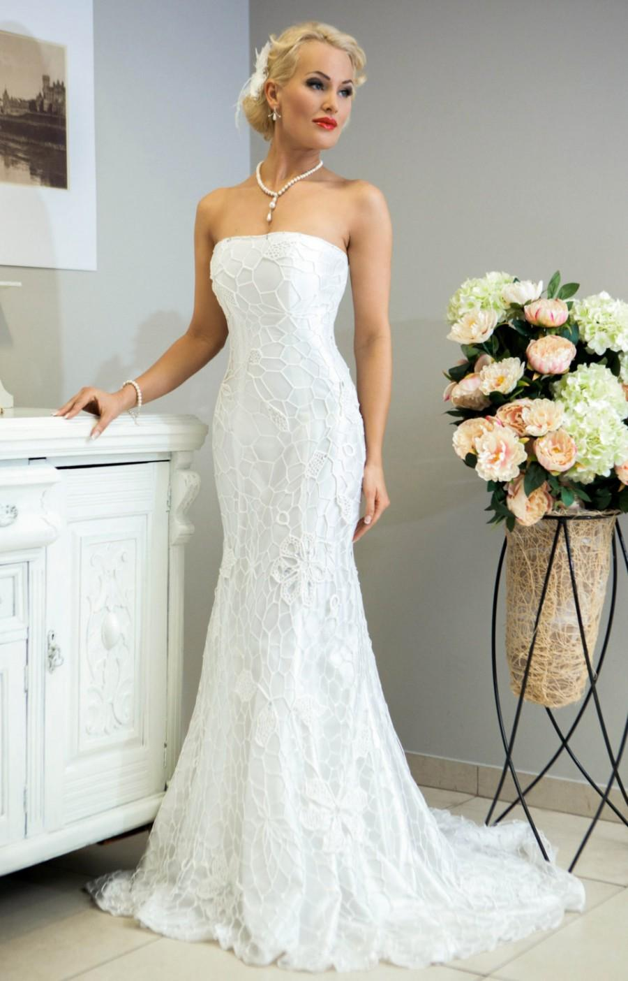 sale miss evita crochet wedding dress wedding dresses for sale SALE Miss Evita crochet wedding dress