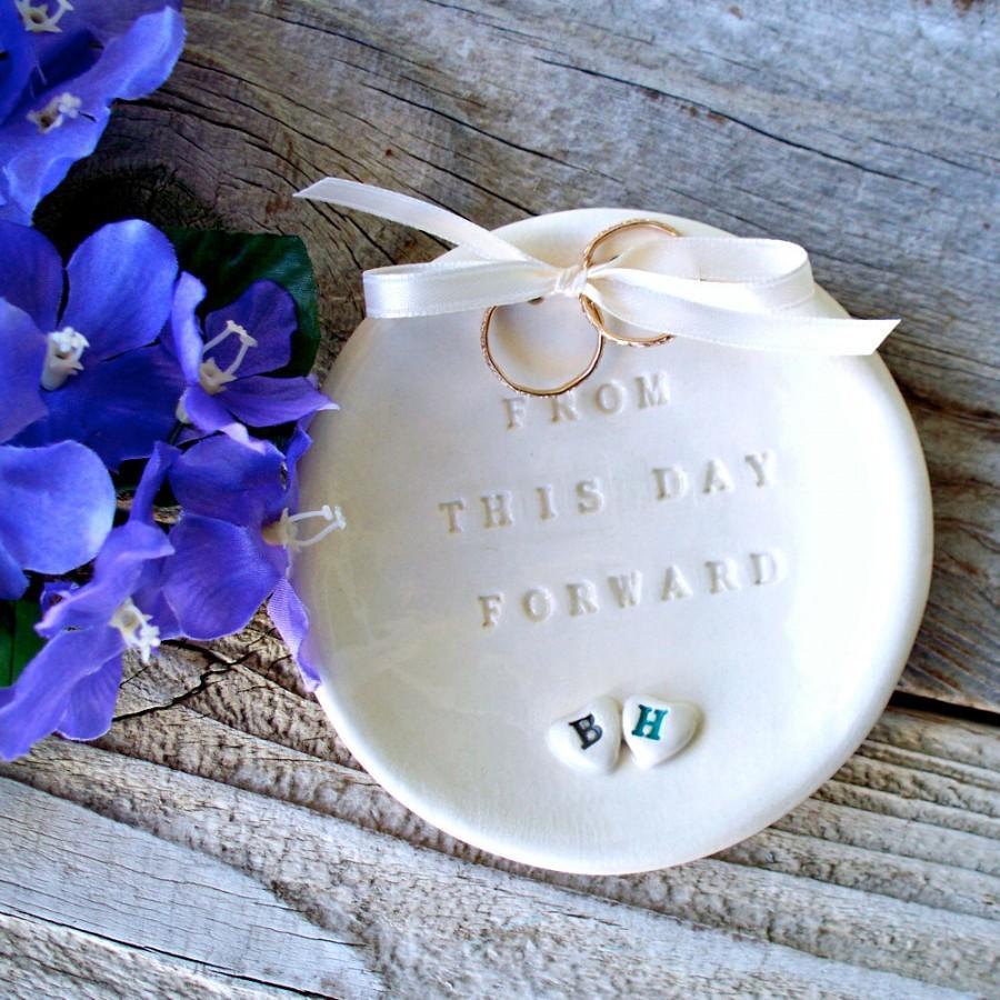 starfish ring bearer ring pillow beach wedding ring holder zoom