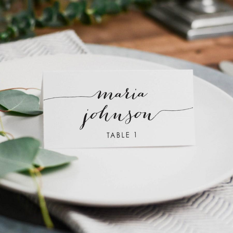 wedding place cards wedding place cards Printable Place Cards Floral Wedding Place Card Editable Wedding Name Cards Food Labels Cards Wedding Tent cards baby Shower Tent Card