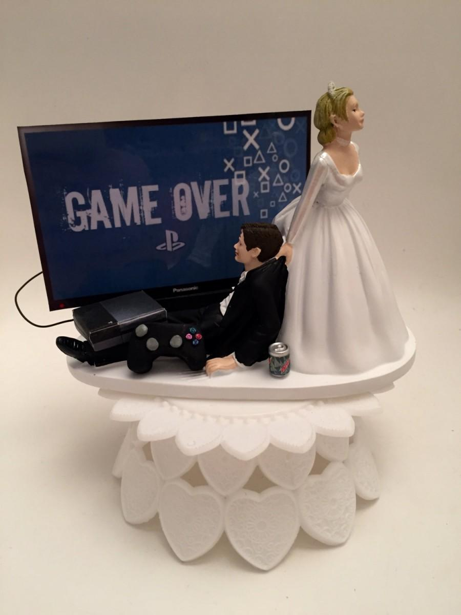 Fullsize Of Funny Wedding Cake Toppers