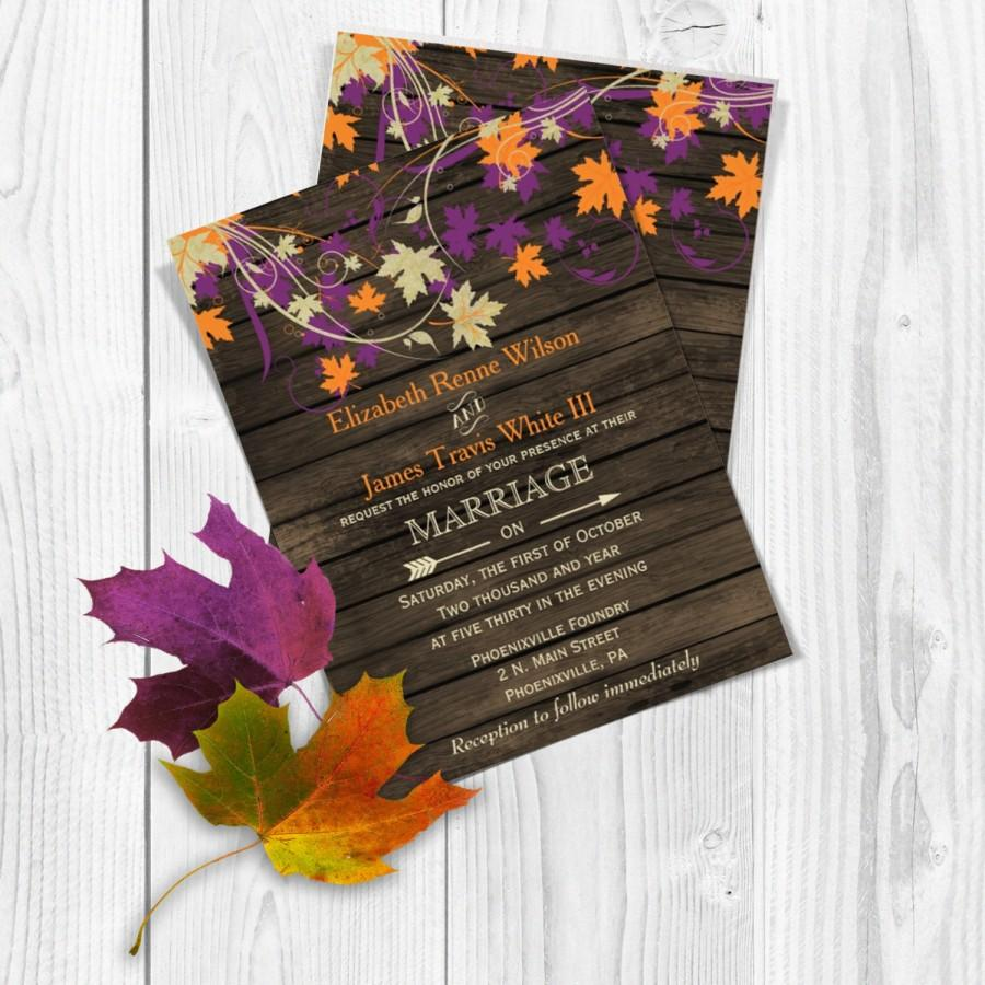 beautiful fall wedding paper divas invitations autumn wedding invitations autumn wedding invitations