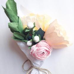Small Of Crepe Paper Flowers