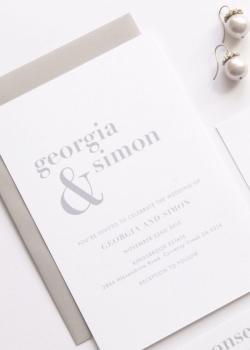 Small Of Simple Wedding Invitations