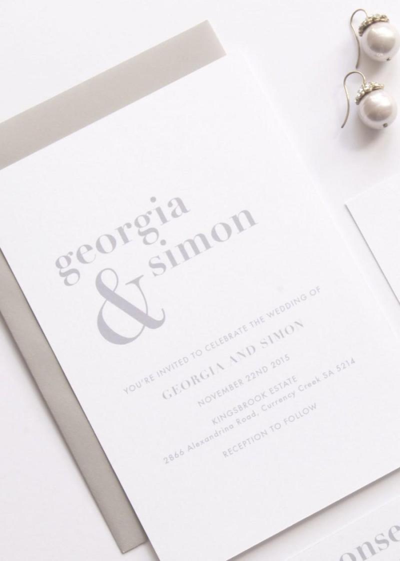 Large Of Simple Wedding Invitations