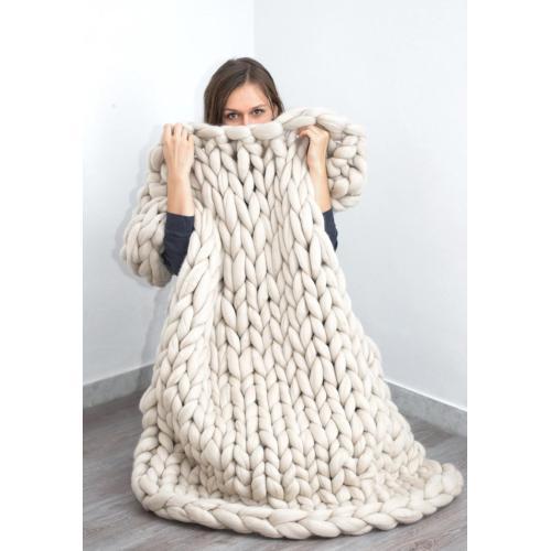 Medium Crop Of Merino Wool Blanket