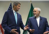 John Kerry, left, and Javad Zarif / AP