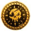 Sea of Thieves Sammlermünze: Gold Edition - Zavvi Exklusiv Limitiert auf 1000 Exemplare