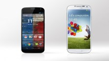 Design and Display Comparison of Samsung Galaxy S4 and Motorola Moto X