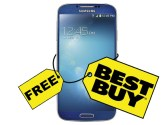 Get Samsung Galaxy S4 for free from Best Buy!