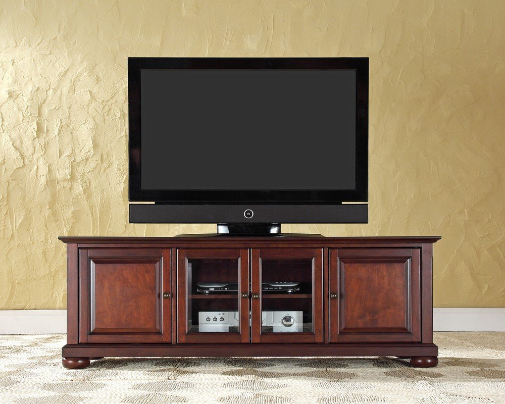 Best tv stand for a flat screen tv for Flat screen tv console cabinet