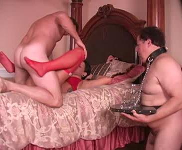 femdom belt spanking