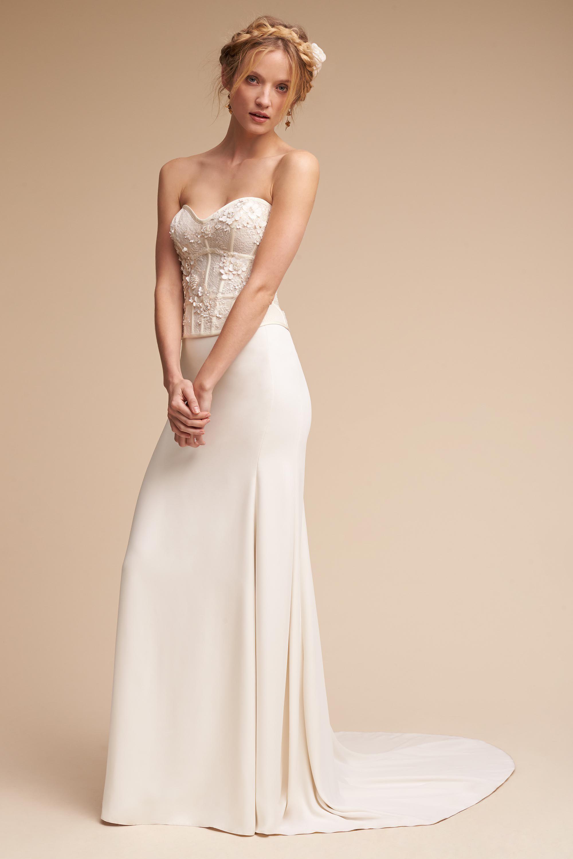 bride bridal separates wedding dress skirt Maryna Corset Top Sade Skirt