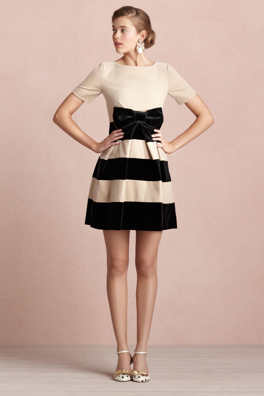 regalia dress party wedding dresses cream black Regalia Dress BHLDN
