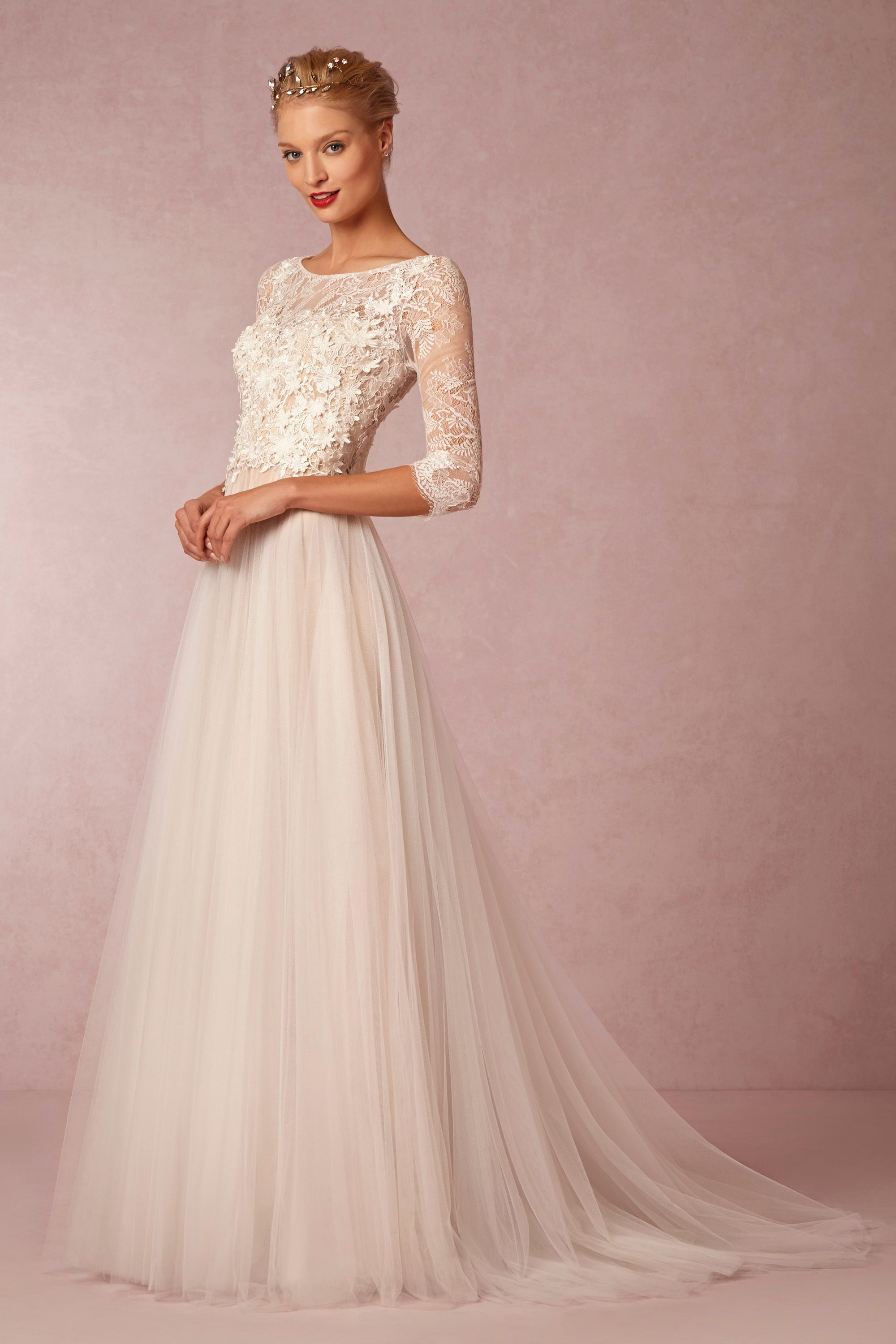amelie gown wedding dresses for sale Watters Ivory Nude Amelie Gown BHLDN