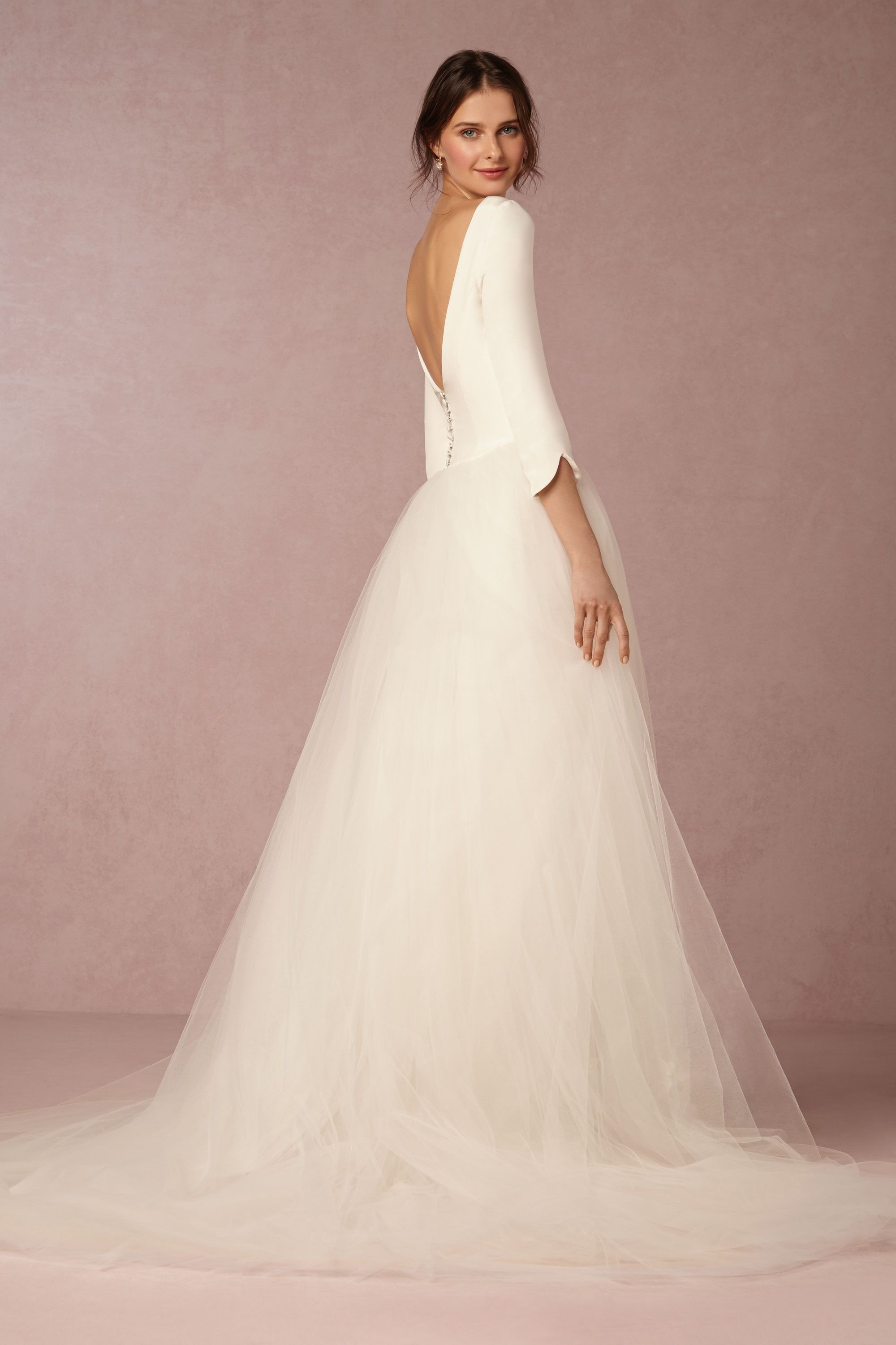 grace gown wedding dress on sale Ivory Grace Gown BHLDN