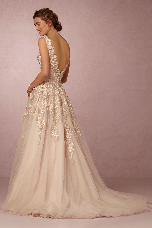 mckinley gown wedding dresses for sale Eddy K Blush McKinley Gown BHLDN