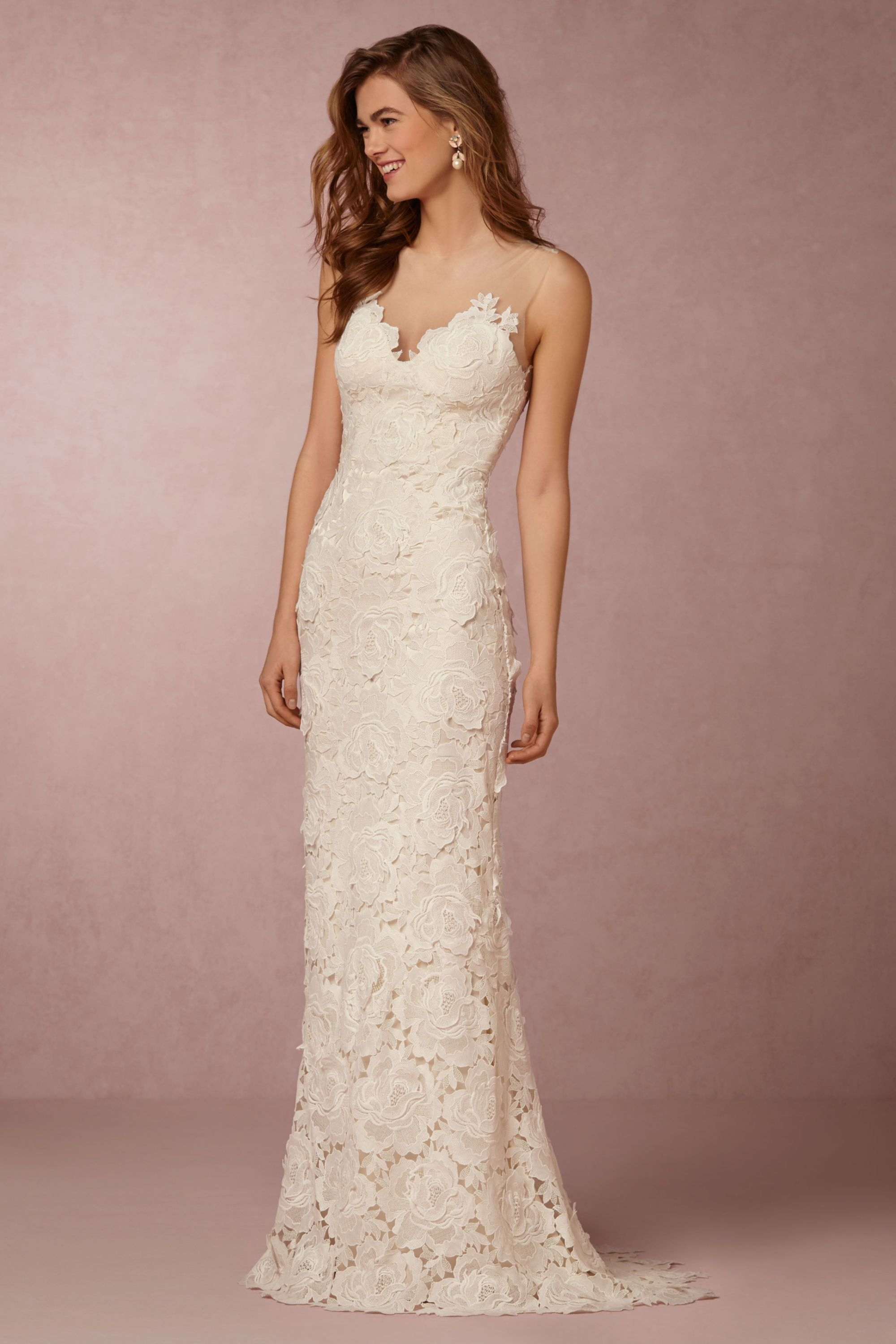 jolie gown pics of wedding dresses Catherine Deane Ivory Jolie Gown BHLDN
