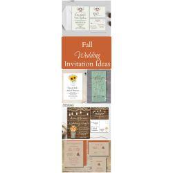 Small Crop Of Fall Wedding Invitations