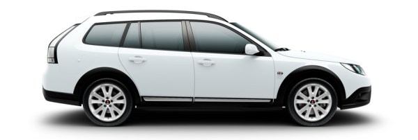 Saab 9-3x-Griffin Arctic White
