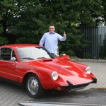 Saab Sonett II, BJ 1968 mit Tobias Kaboth, Mobilforum Dresden