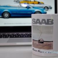 Saab Lesertassen & Saab Events