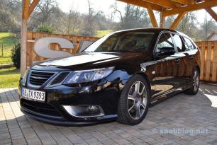 Saab Turbo X Hirsch Performance Fahrwerk