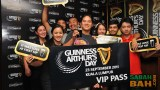 To Arthur! Winners of Guinness Arthur Day VIP Passes for the big party in KL