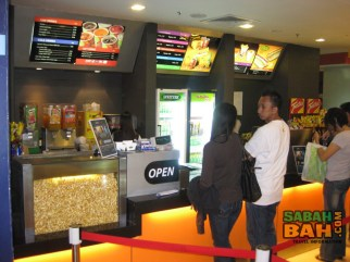 The confectionary at Golden Screen Cinemas is quite pricey and can easily double the cost of going to the movies