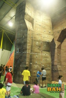 The Sabah Indoor Climbing Centre has various grades to cater to your abilities