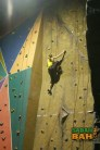 The climbing wall is about 5m high. Plenty to get you going on.
