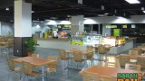 The interior of the Suria Sabah food court. The picture was taken when it was new...