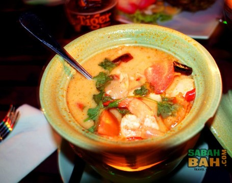 Tom Yum Soup is a must have at any Thai restaurant
