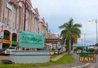 Kota Kinabalu's Tanjung Aru Plaza in Sabah, Borneo