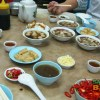 Yu Kee Bak Kut Teh: with not quite all the dishes out yet, the feast is about to begin