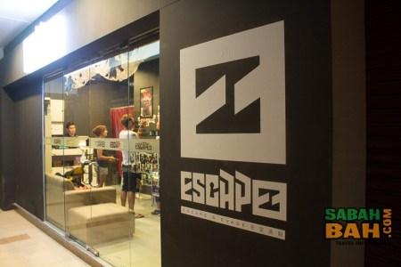 Escapee's Escape Rooms in Warisan Square, Kota Kinabalu, Malaysia