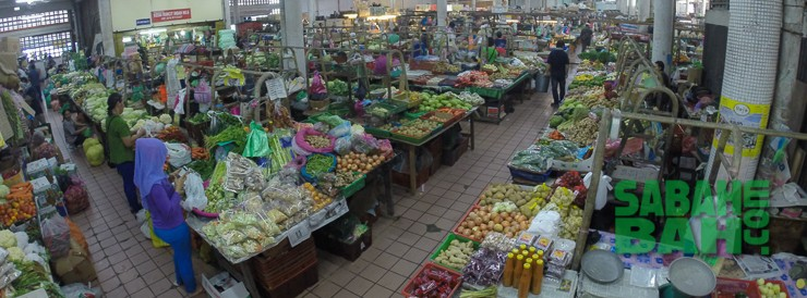 The Central Market is a visual fest of local Sabah produce, a free activity to open your eyes to a slice of daily, local life