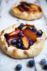 Blueberry Nectarine Galette